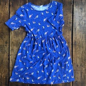 Girls Gymboree Owl Dress